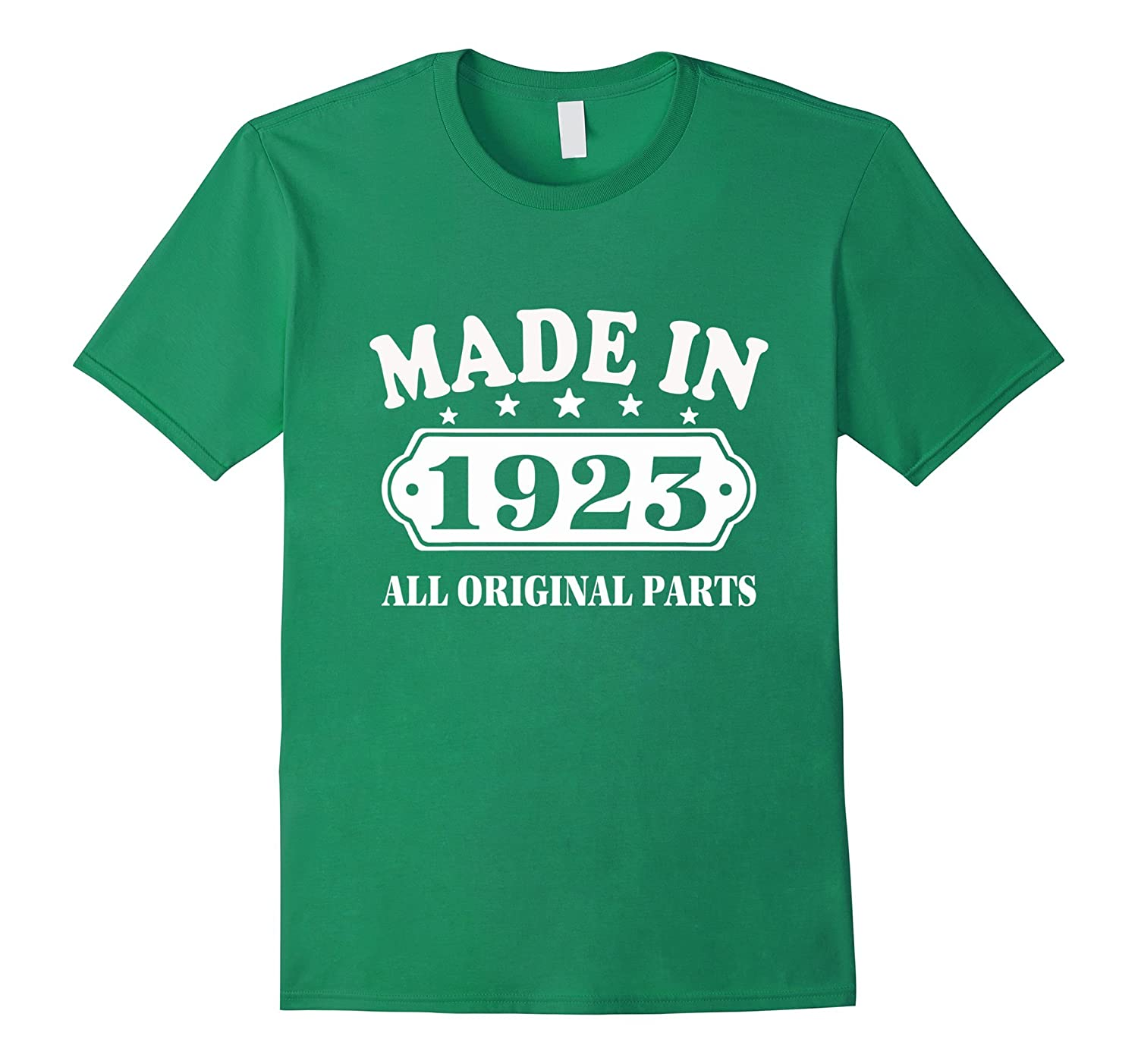 94th Vintage Made in 1923 Gift ideas Man Eagle T-Shirt-PL