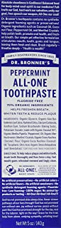 product image for Dr. Bronners Toothpaste Peppermint 5 Ounce (Pack of 2)