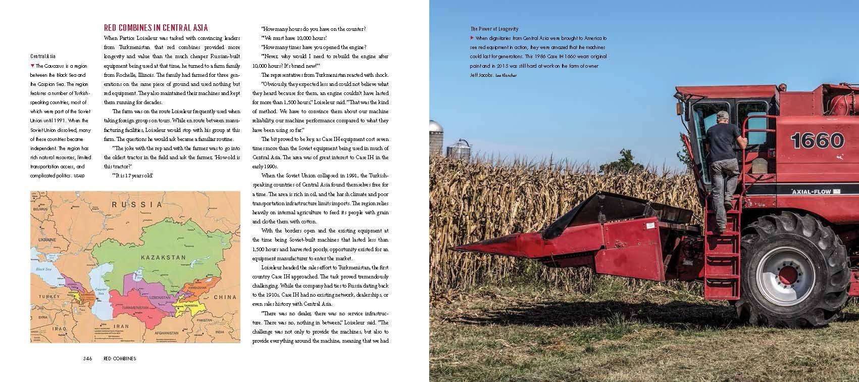 Red Combines 1915-2015: The Authoritative Guide to International Harvester and Case IH Combines and Harvesting Equipment by Octane Press LLC (Image #10)