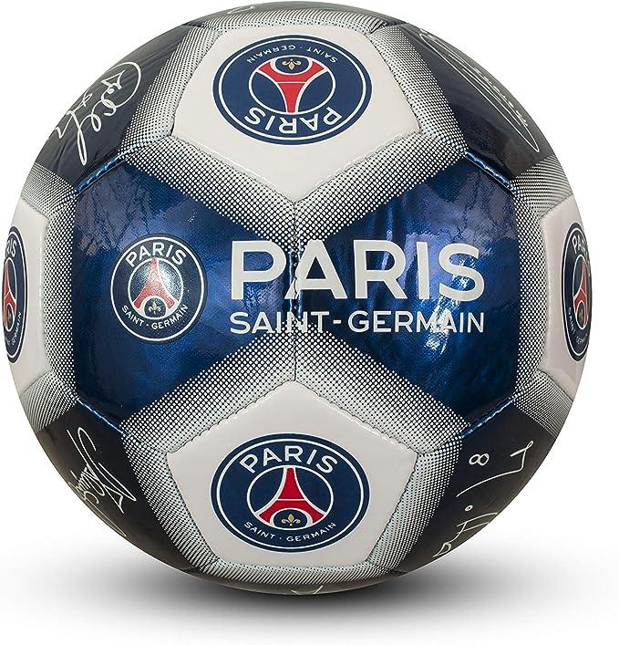 PARIS SAINT GERMAIN - Balón de fútbol oficial firmas de los ...