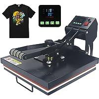 "RoyalPress 15"" x 15"" Color LED Industrial-Quality Digital Sublimation Heat Transfer Machine T-Shirt Heat Press Machine…"