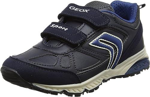 Geox Boys J Bernie C Low-Top Sneakers