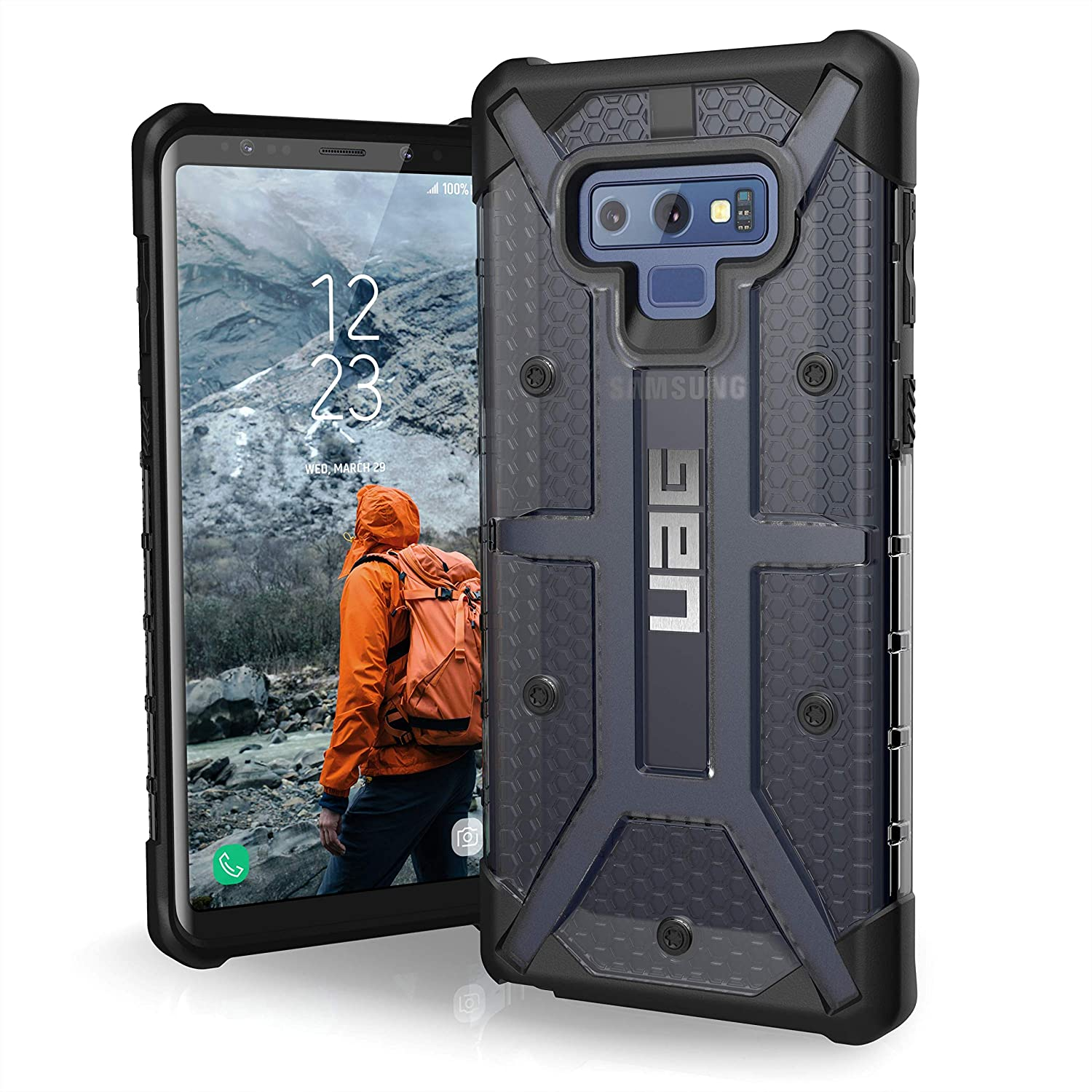 on sale f4a3c b1c2d URBAN ARMOR GEAR UAG Samsung Galaxy Note 9 Plasma Feather-Light Rugged  [Ash] Military Drop Tested Phone Case