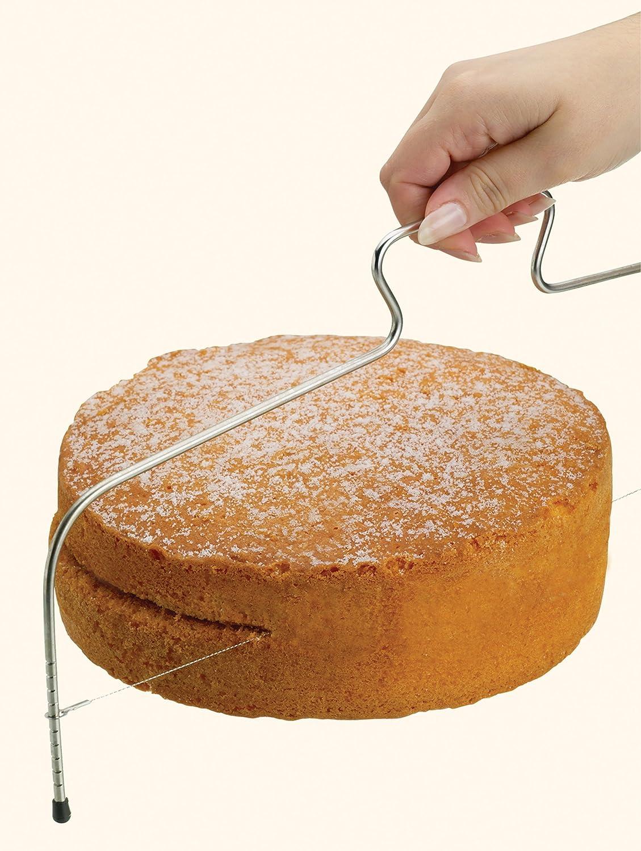 Kitchencraft Alambre Cortador de Pasteles, tartas de acero, 40cm/16