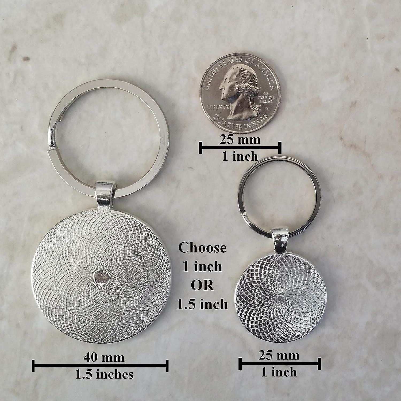 Roulette Wheel Keychain