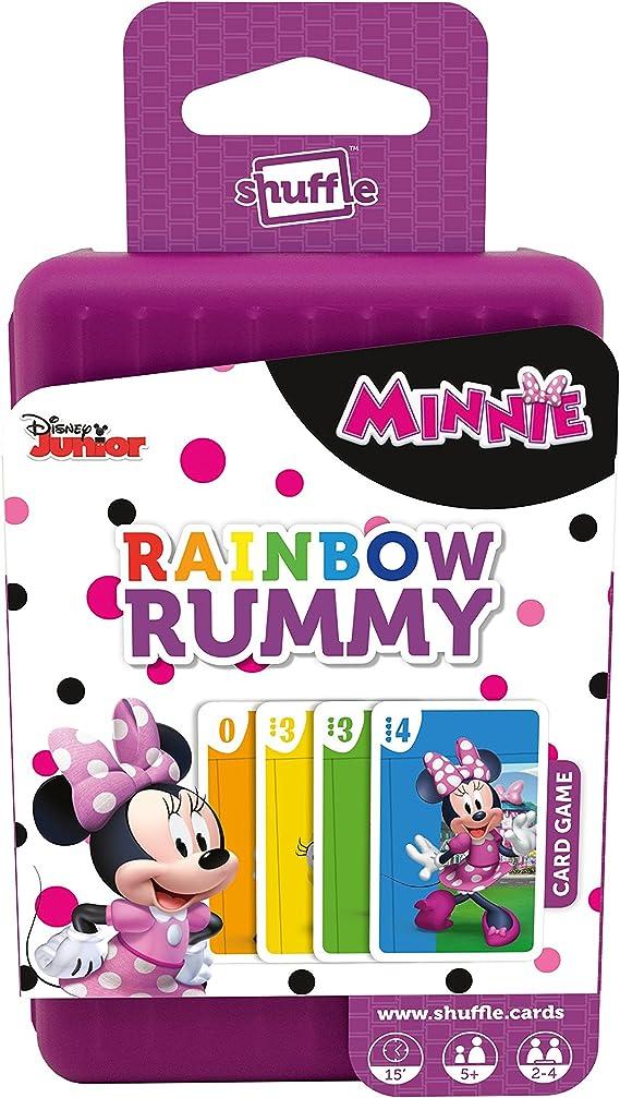 Shuffle 100240004 Minnie Mouse Rainbow Rummy , color/modelo surtido: Amazon.es: Juguetes y juegos