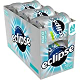 Eclipse Polar Ice Sugar Free Gum, 60 Count (Pack of 6)