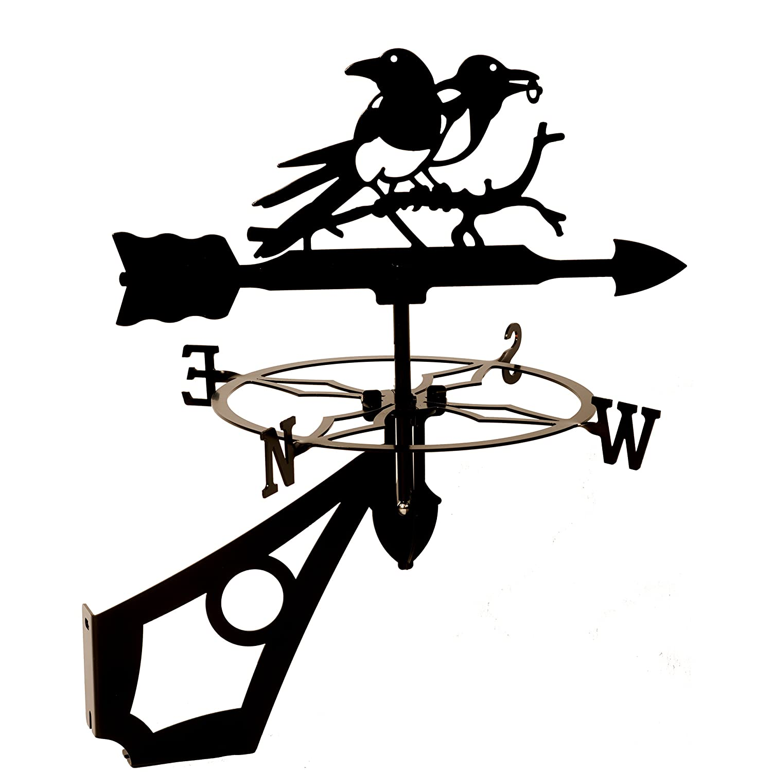 Dragon Laser Ltd W144BLK Magpies, Bird Weathervane Dragon Laser Ltd.