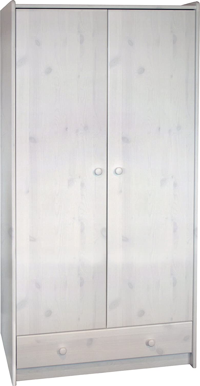 Steens Group 2901000050001N SFK Armoire MDF Blanc 95 x 58 x 180 cm