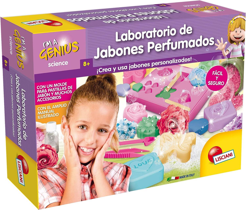 Lisciani Giochi laboratorio de ciencias juego infantil Peque/ño Genio jabones perfumados