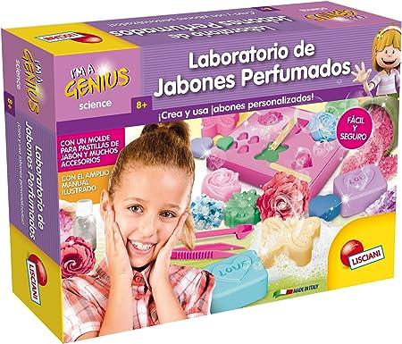 Lisciani Giochi, Pequeño Genio, juego infantil, laboratorio de ciencias, jabones perfumados