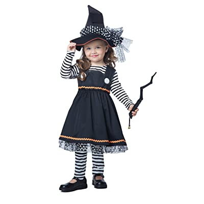 California Costumes Crafty Little Witch Toddler Costume, Size 3-4: Toys & Games