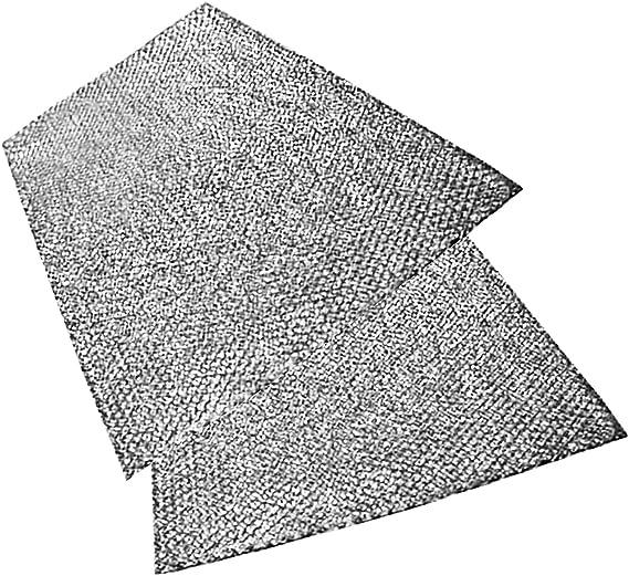 Spares2go grande aluminio malla filtro para campana de cocina Corbero/ventilador Extractor ventilación (Pack de 2 filtros, 91 x 46 cm): Amazon.es: Hogar