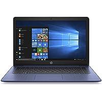 """HP 14-ds0006nl Stream Notebook, AMD Dual-Core A4-9120e, RAM 4 GB DDR4, eMMC 64 GB, Windows 10 Home S, Schermo 14"""" HD SVA BrightView, USB, HDMI, RJ45, Lettore SD/Micro SD, Webcam, Microfono, Blu"""