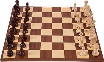 Square - Profesional Ajedrez de Madera Nº 6 - Europa - Tablero de ...