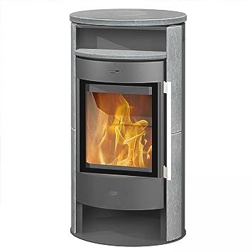 Fireplace Kaminofen Durango Naturstein 6 Kw Holz Teefach