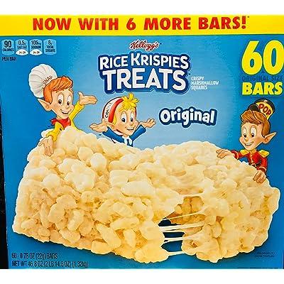 - Rice Krispies Treats, Original Marshmallow, 0.78oz Pack, 60 per Carton: Kitchen & Dining
