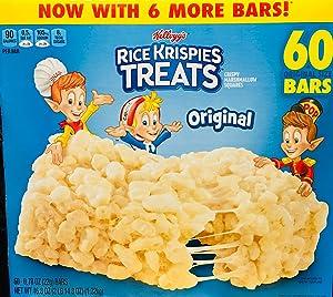 - Rice Krispies Treats, Original Marshmallow, 0.78oz Pack, 60 per Carton