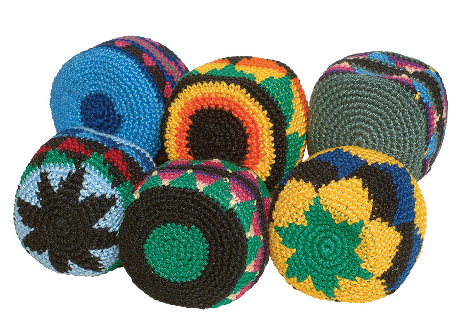Hacky-Sack Boota Footbags, Set of 6 by Hackey-Sack
