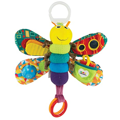 Freddie the Firefly Clip On Pram and Pushchair Baby Toy