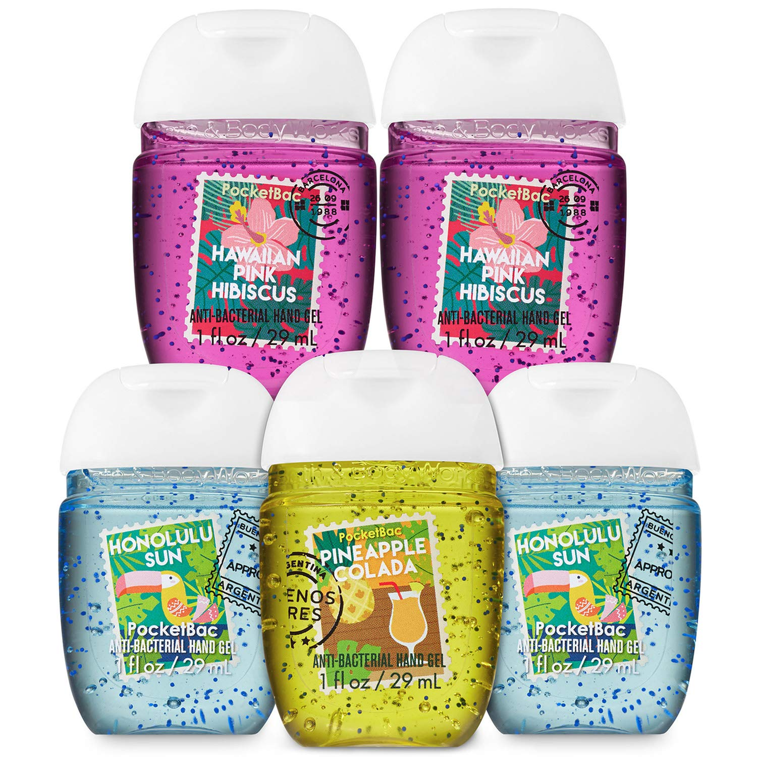Amazoncom Bath And Body Works Escape Route 5 Pack Pocketbac Hand
