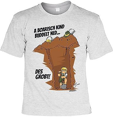 Bayisches Sprüche Motiv Shirt Dialekt Bayern A Boarisch Kind
