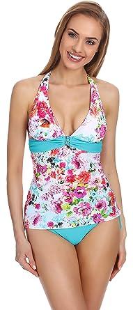 Merry Style Conjunto Tankini Bañador Traje de Baño 2 Piezas Mujer P227-30MK