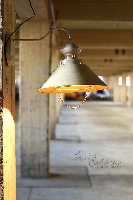 wohnzimmer lampe industrie : Industrie Design Wandleuchte Loft Wei Kupfer Wandlampe Wand