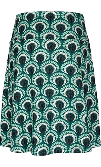 King Louie Rock BORDER SKIRT PEACOCK rock green Grün XL: Amazon.de:  Bekleidung