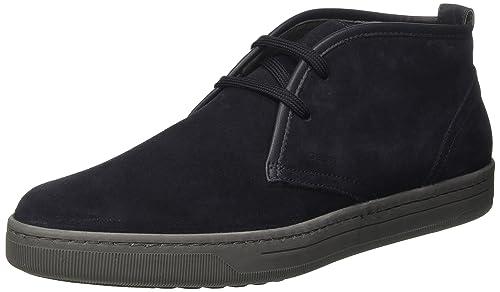 Geox U Snapish B, Zapatillas para Hombre, Azul (NAVYC4002), 45 EU