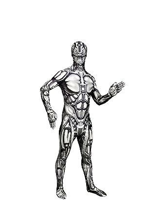 Morphsuit Adultos Androide Monstruo de Disfraces - Tamaño Grande - 55