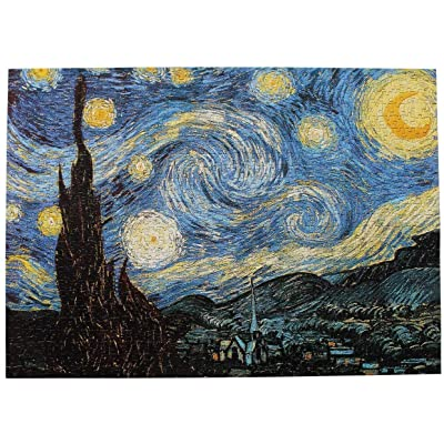 Jigsaw Puzzle 1000 Piece for Adult,Starry Night Thicker Paper Puzzles for Youth 42 x 29.7 cm,Themes Puzzle Sets for Family, Standard 14-28 Days,DHL Delivery 5-10 Days: Toys & Games