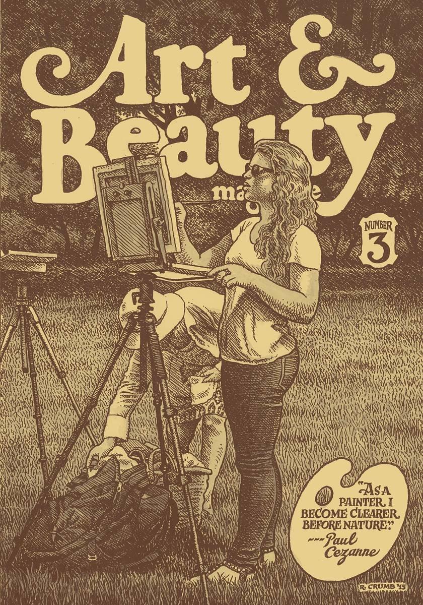 Read Online R Crumb's Art & Beauty #3 PDF