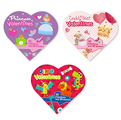 Amazon Com B There School Valentine Day Value Pack Featuring 90