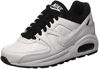 pretty nice 587a9 a239e Nike Air Max Command Flex LTR GS Chaussures de Running, Homme, Blanc, 38