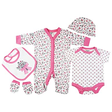 One-pieces Dedicated 0-3 Months Girls Sleepsuits