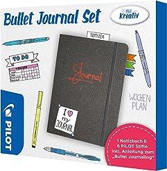 PILOT Bullet Journal Set - Neon Trend