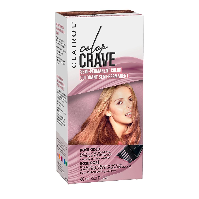 Amazon Com Clairol Color Crave Semi Permanent Hair Color Rose