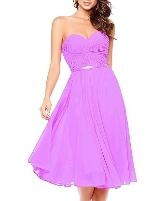 Ladsen Short Chiffon Bridesmaid Dresses 2017 Plus Size Gowns Navy