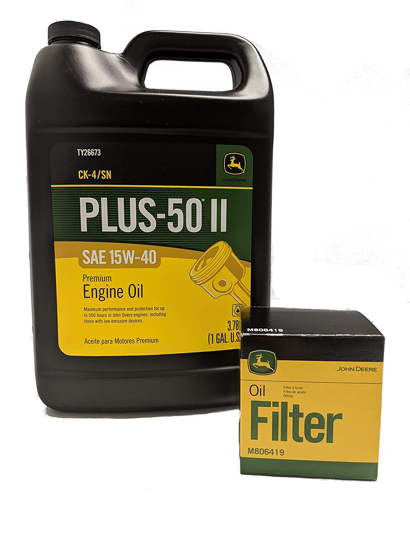 Amazon.com: John Deere Kit de cambio de aceite de equipo ...