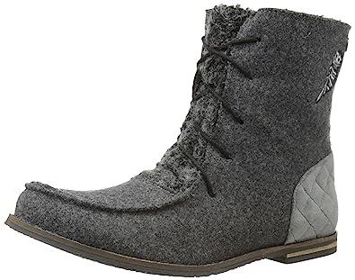 The SAK Women's Sakroots Jayla Boot, Grey Owl, ...