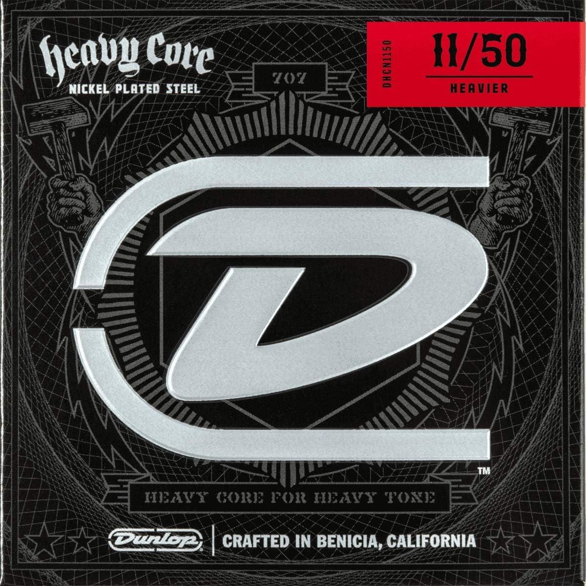 Jim Dunlop Guitar Strings Heavy Heavier Core  Electric Extra Heavy 11-50