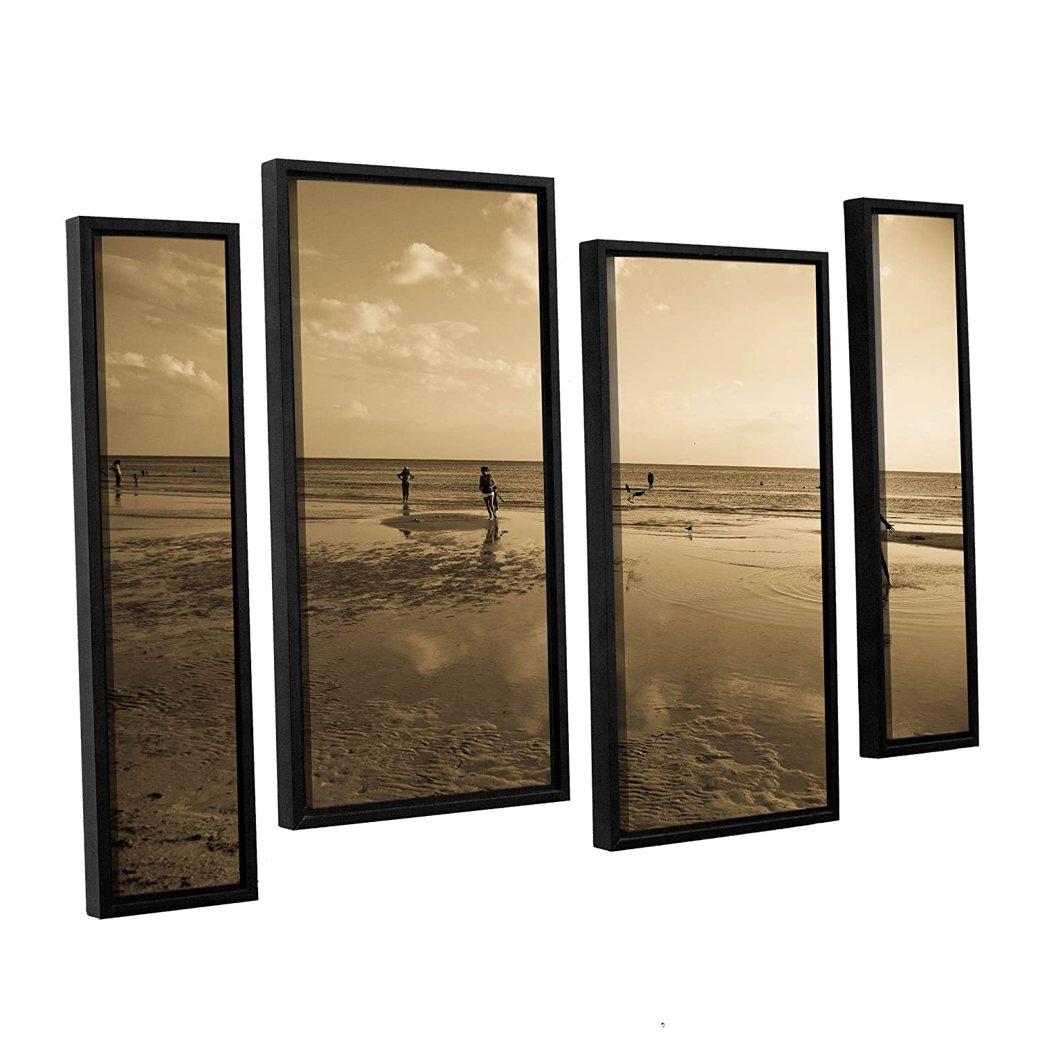 24 by 36 ArtWall Lindsey Janich 0397 4 Piece Floater Framed Canvas Artwork