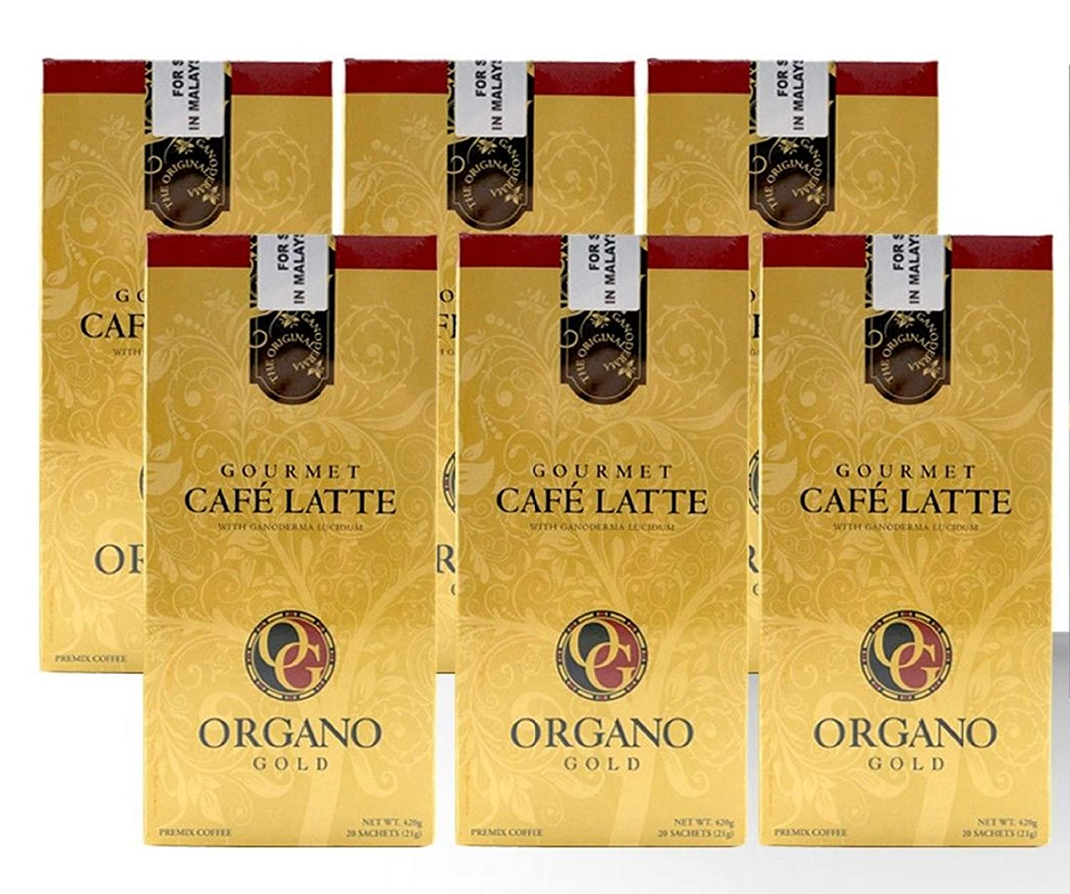 6 Box 100% Certified Organic Organic Ganoderma Gourmet Organo Gold Cafe Latte Offer Free Express 81FzpJT4m9L._SL1500_