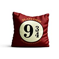 Mc Sid Razz - Harry Potter - House Crest 3 - Decorative cushion covers/ throw pillow / pillowcase ( 16 x 16 inch ) - Officially Licensed by Warner Bros, USA ( without cushion ) [ Perfect Boyfriend Girlfriend Gifts