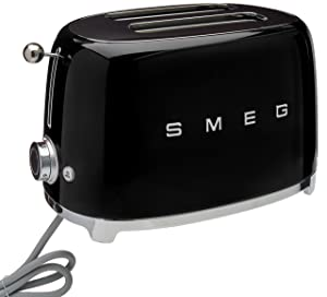 Smeg 2-Slice Toaster-Black