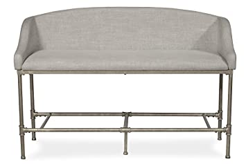 Peachy Hillsdale Furniture Dillon Upholstered Upolhstered Counter Height Bench Pewter Inzonedesignstudio Interior Chair Design Inzonedesignstudiocom