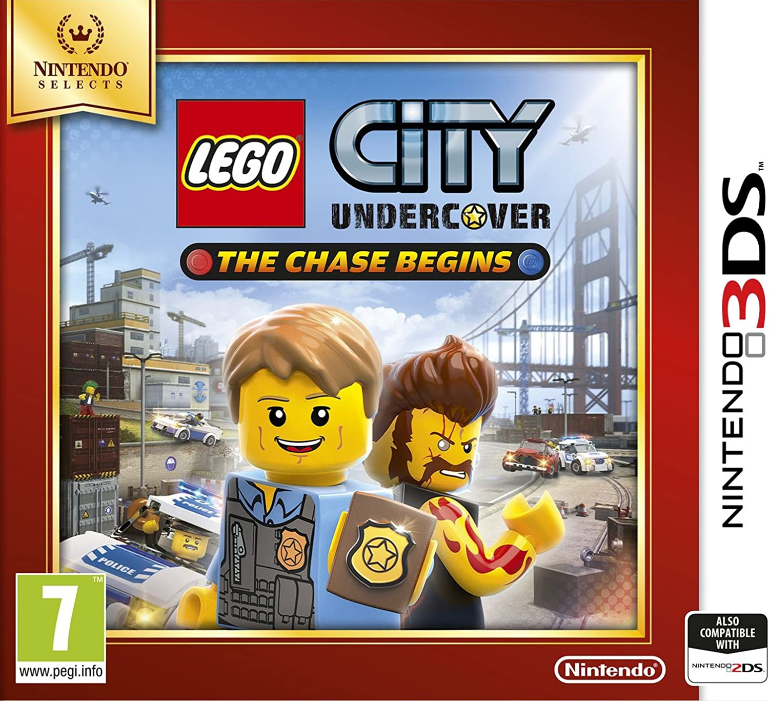 LEGO City: Undercover (Nintendo Selects): Amazon.es: Videojuegos