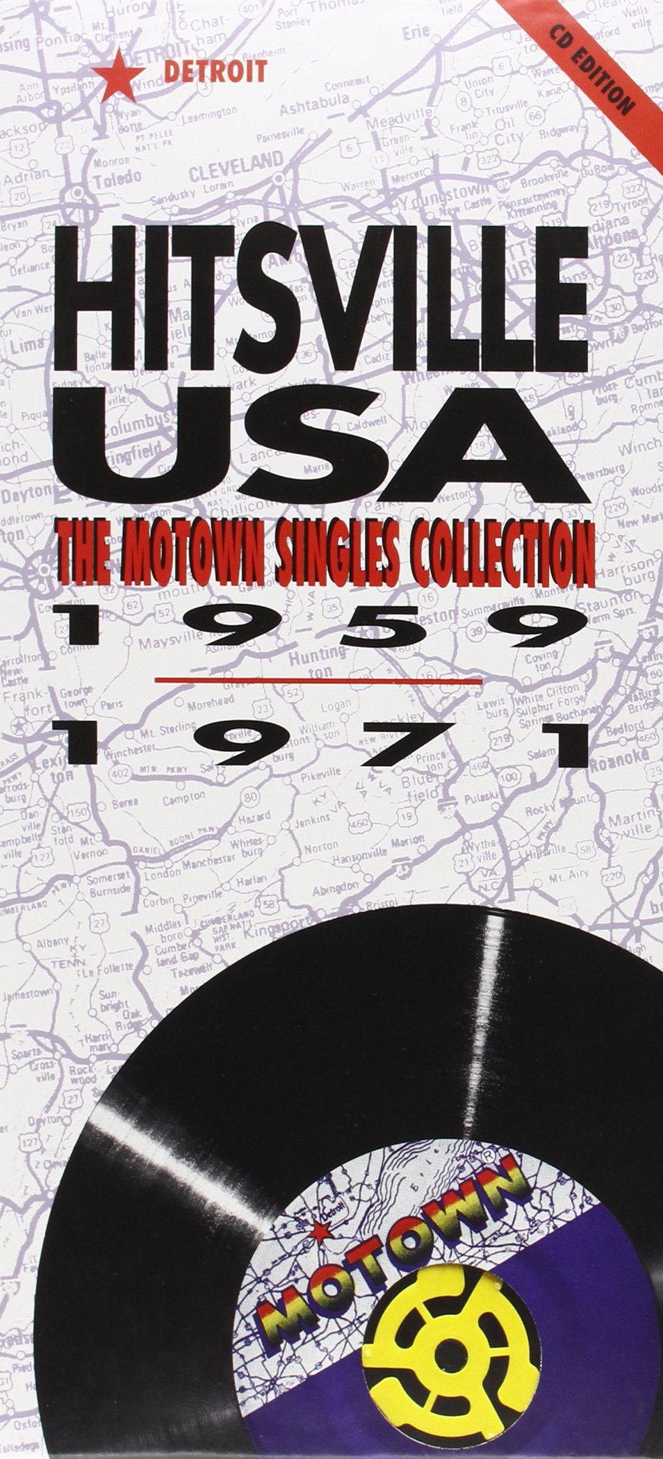 Hitsville USA: The Motown Singles Collection 1959-1971 by Motown Records