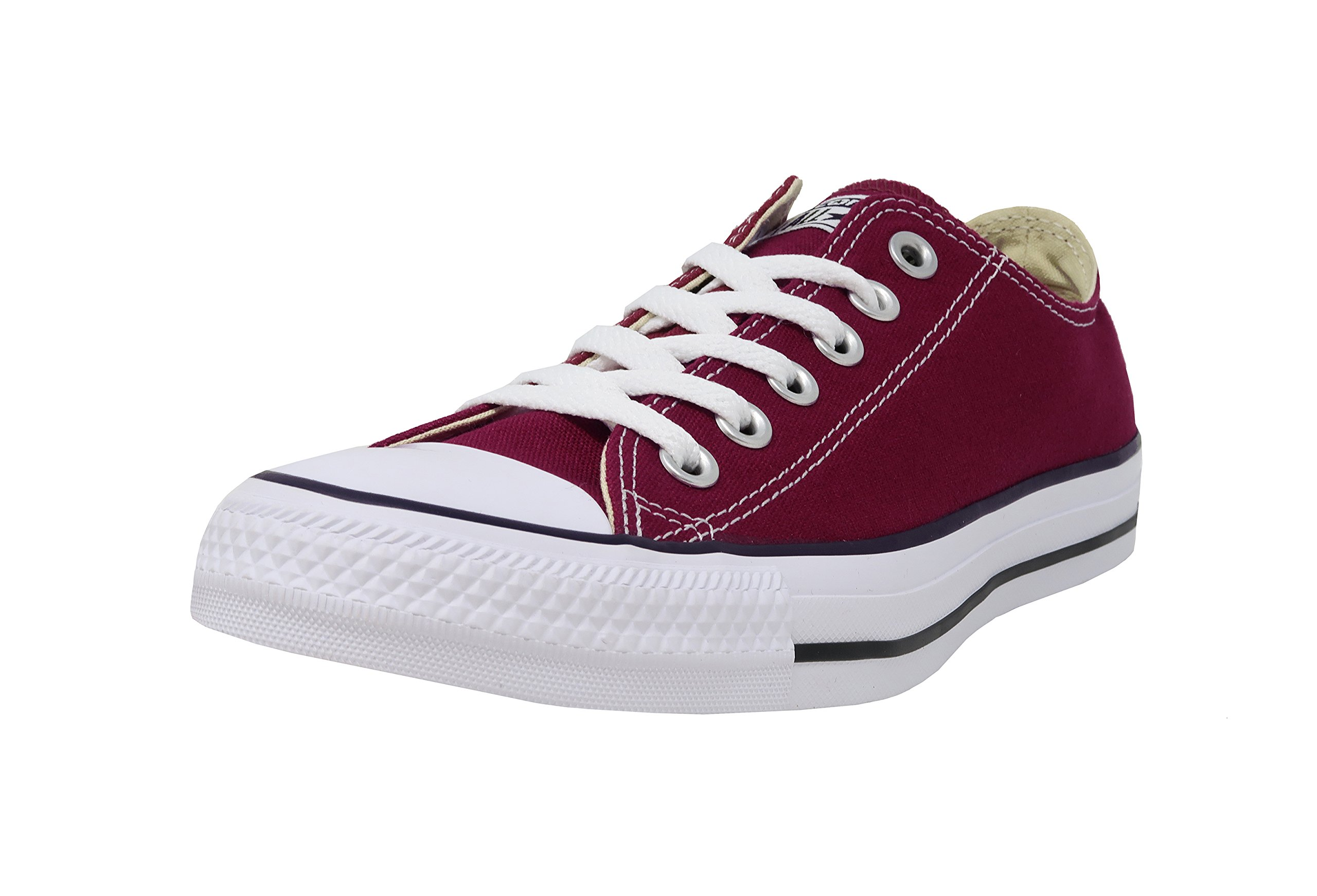 Converse Unisex Chuck Taylor All Star Low Top Sneakers -  Maroon - 5.5 B(M) US